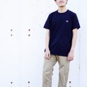 Men's und☆star Styling FRED PERRY 編