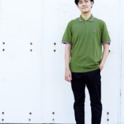Men's Style FRED PERRY 編